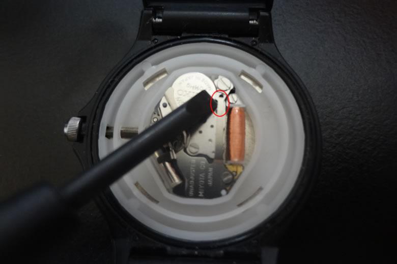 チプカシ 電池交換 自分で交換