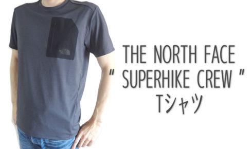 ノースフェイス スーパーハイククルー Tシャツ