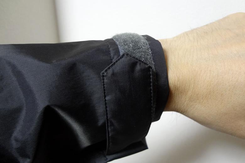 マーモット ビームス シャワーモッズコート 袖サイズ調整