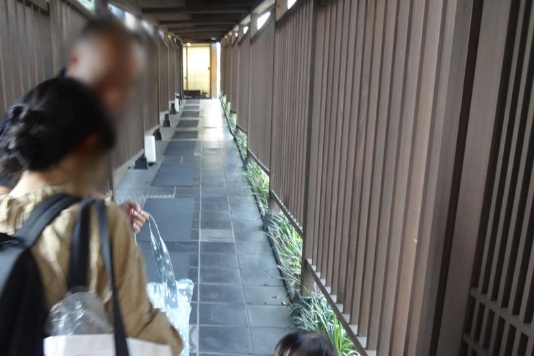 花べっぷ 入口 千本格子 雰囲気