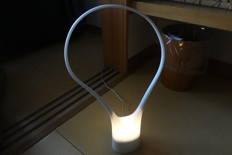 花べっぷ 和室 インテリアライト