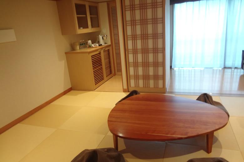 花べっぷ 和室 畳 テーブル