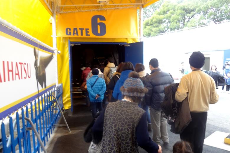 シルク・ドゥ・ソレイユ KURIOS(キュリオス)福岡公演 公演テント内入場ゲート