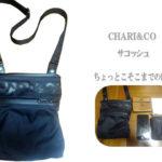 chari&co(チャリアンドコ―)ナイロンサコッシュ 収納小物参考