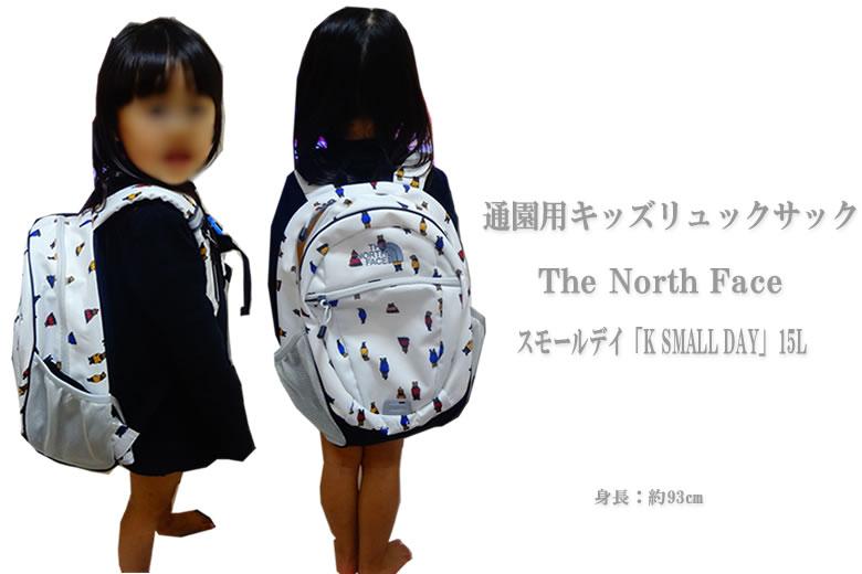 ノースフェイス スモールデイ(NMJ71653)15L リュックサック