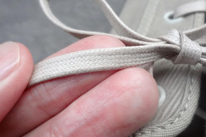 ムーンスター ジムクラシックGLR 靴紐